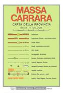 mappa Provincia di Massa Carrara