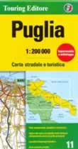 mappa Puglia stradale
