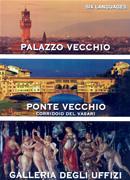 dvd DVD Le quattro meraviglie di Firenze: Palazzo Vecchio, Ponte Corridoio del Vasari, Galleria Uffizi documentario in sei lingue + contenuti speciali, la storia, l'arte e curiosità
