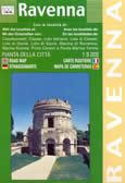mappa di città Ravenna - con Casalborsetti, Classe, Lido Adriano, Lido di Classe, Lido di Dante, di Savio, Marina di Ravenna, Marina Romea, Porto Corsini e Punta Marina Terme
