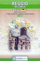mappa Reggio nell'Emilia di città 2018
