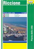 mappa di città Riccione - mappa della città - nuova edizione