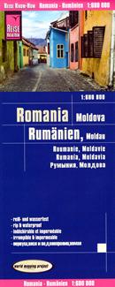mappa Romania