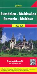 mappa Romania, Moldova / Moldavia con Bucarest, Cluj Napoca, Timisoara, Iasi, Costanza, Craiova, Brasov, Galati, Ploiesti, Oradea, Braila, Arad, Pitesti, Sibiu, Bacau, Chisinau, Tiraspol, Balti, Tighina, Rabnita 2019