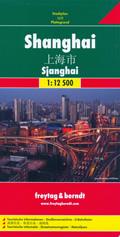 mappa di città Shanghai - mappa della città con indice delle strade, linee e fermate della metropolitana