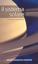 mappa Il Sistema Solare astronomica con informazioni sui pianeti