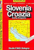 atlante stradale Slovenia, Croazia, Bosnia-Erzegovina - edizione 2013