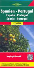 mappa stradale Spagna e Portogallo - edizione 2015