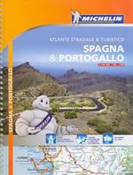 atlante Spagna e Portogallo (con Baleari, Canarie, Azzorre Madeira) atlante stradale a spirale
