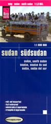 mappa Sudan e del con Khartoum, Omdurman, Merowe, Dongola, Berber, Halaib, Juba, Nimule, Kosti, El Geneina