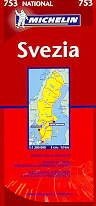 mappa stradale 753 - Svezia