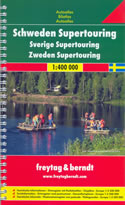 atlante stradale Svezia - Atlante Stradale a Spirale