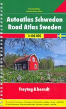 atlante stradale Svezia - Atlante Stradale a Spirale - edizione 2017