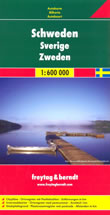 mappa Svezia Stoccolma teborg