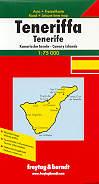 mappa stradale Tenerife / Teneriffa - Isole Canarie