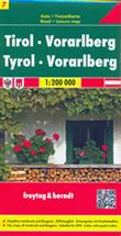 mappa Tirolo Tyrol Vorarlberg