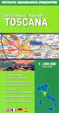 mappa Toscana con indice e mappe di città 2016