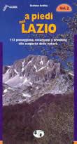 guida per il Trekking A piedi nel Lazio vol.2