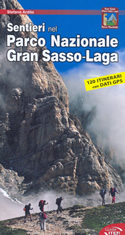 guida per il Trekking Sentieri nel Parco Nazionale del Gran Sasso Laga, 120 itinerari con dati GPS