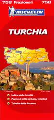 mappa stradale n.758 - Turchia