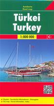 mappa Turchia 2014