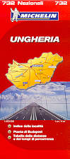 mappa stradale n.732 - Ungheria
