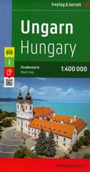 mappa Ungheria con Budapest, Debrecen, Miskolc, Szeged (Seghedino), Pécs (Cinquechiese), Győr, Nyíregyháza, Kecskemét, Székesfehérvár (Albareale), Eger, Esztergom (Strigonio) 2022