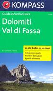 guida turistica n.5717 - Guida Escursionistica per la Val di Fassa (Dolomiti)