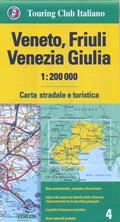 mappa Veneto, Friuli Venezia Giulia