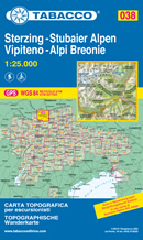 mappa Alpi