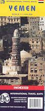 mappa stradale Yemen