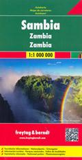 mappa Zambia Kabwe Ndola