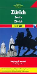 mappa Zurigo di città