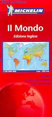 Mondo planisfero edizione inglese